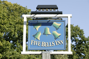 The Five Bells Inn Smock Alley